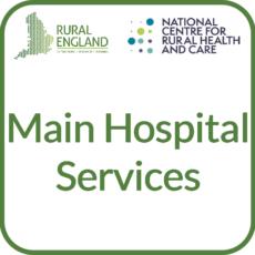 Main Hospital Services