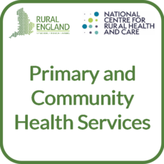 Primary and Community Health Services