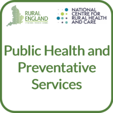 Public Health and Preventative Services