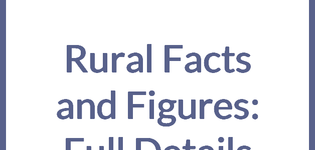 Rural Facts and Figures – Full Details
